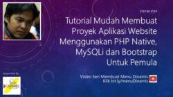 Part 3. Membuat Menu Dinamis | PHP, MySQLi, Bootstrap