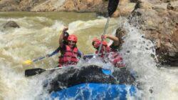 Wisata Arung Jeram Sungai Ciberang Lebak Banten