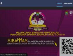 SIBAMAS – Bantuan Permodalan Penanganan Dampak Ekonomi Covid 19 Kabupaten Tangerang