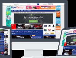 Website Berita Cocok Pakai Tema WordPress Newkarma
