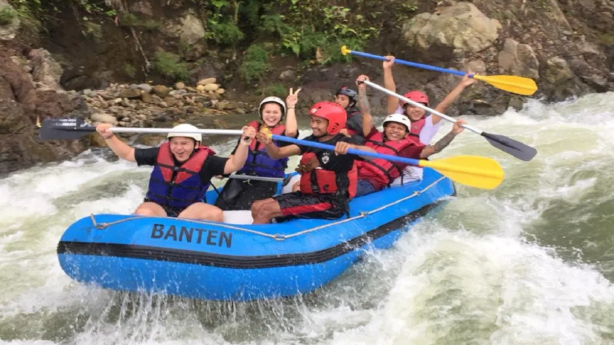 Banten Rafting Ciberang