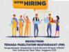 Rekrutmen Tenaga Fasilitator Masyarakat (FM) Kegiatan PISEW Dirjen DJCK BPPW Kalbar