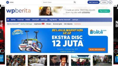 WPBerita Cocok Untuk Kamu Yang Ingin Punya Website Berita
