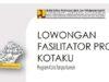 Program KOTAKU Papua Barat Buka Lowongan Fasilitator 2021