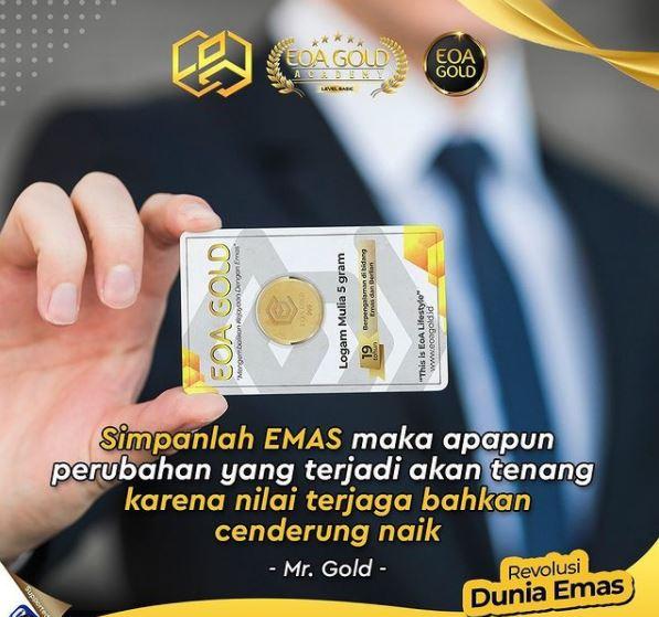 Jual beli emas batang eoa gold & dinar