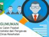 Lowongan Jabatan Dinas Kesehatan Provinsi Banten Tahun 2021