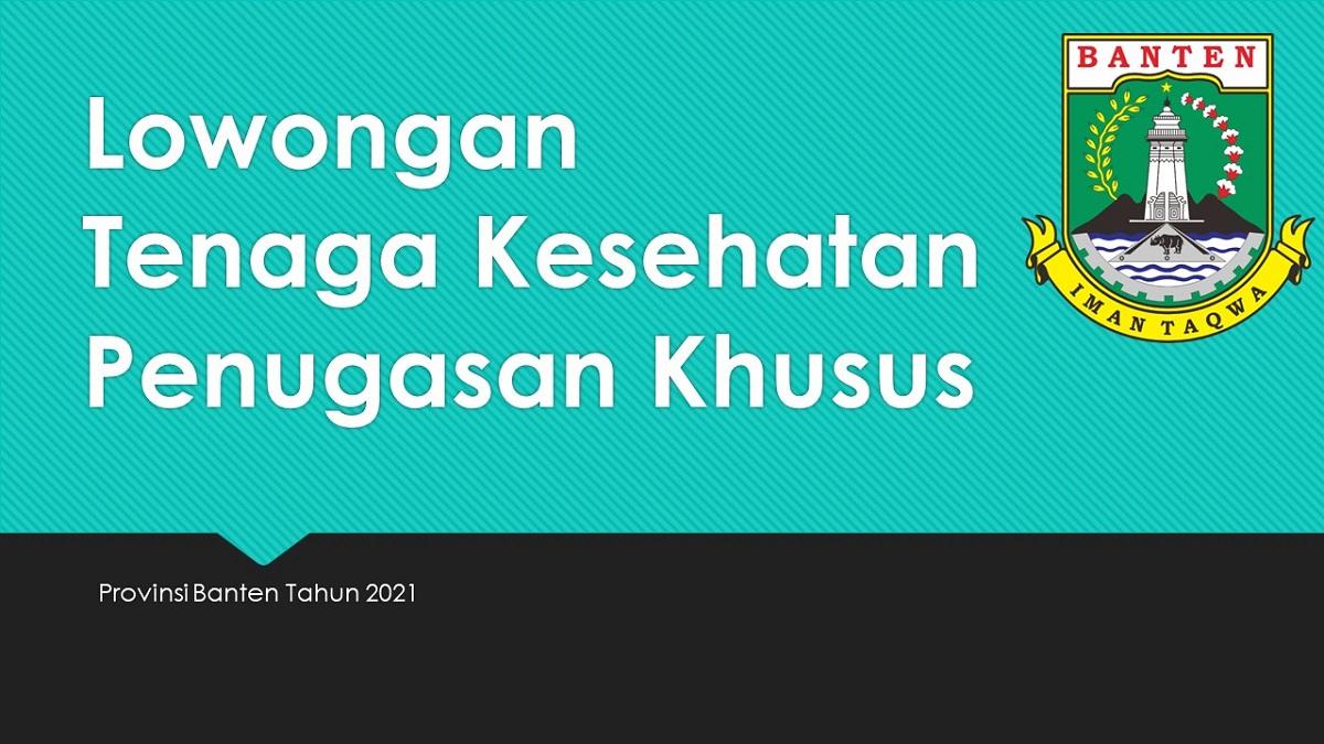 Lowongan Nakes Banten